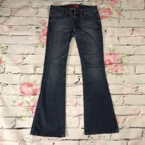 Guess Jeans Boot Cut Size 28 Daredevil Flare